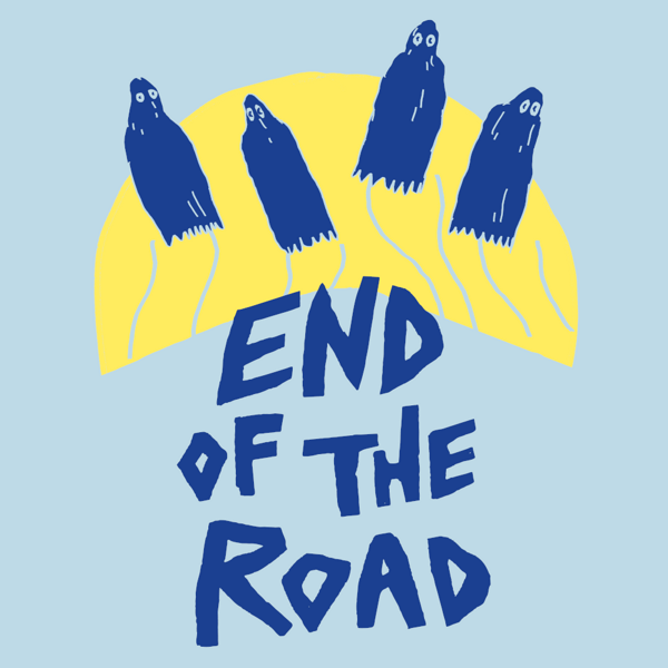 """2021 """"Ghosts"""" T-Shirt - Light Blue - End of the Road Festival"""