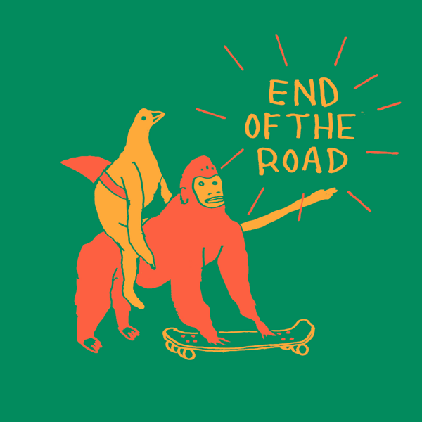 "2021 ""Skateboard"" Kids T-Shirt - Green - End of the Road Festival"
