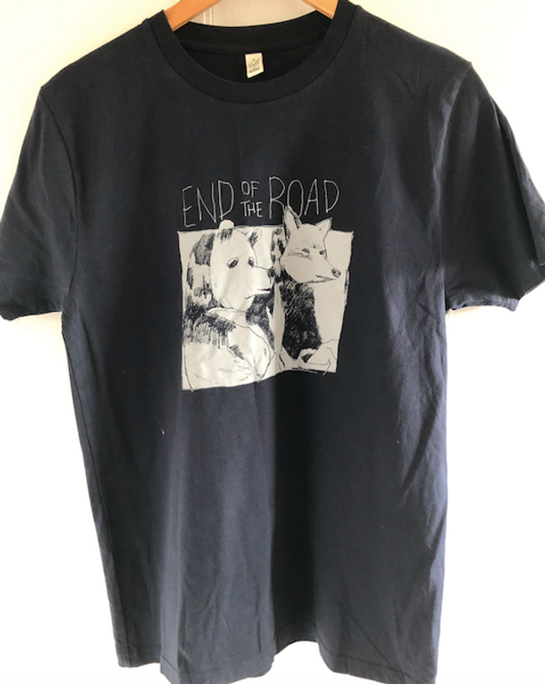 Bear & Fox T-Shirt - Navy (Ltd Edition) - End of the Road Festival