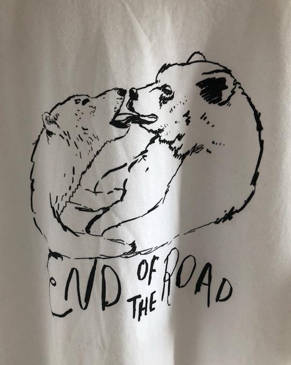 Bear Kiss - White (Ltd Edition) - End of the Road Festival
