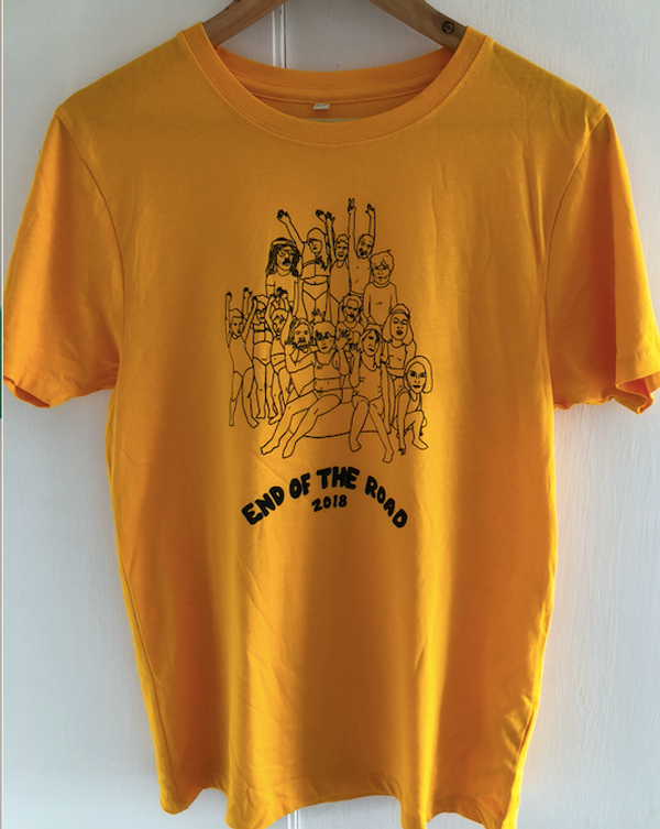 By Du Blonde T-Shirt - Yellow (Ltd Edition) - End of the Road Festival