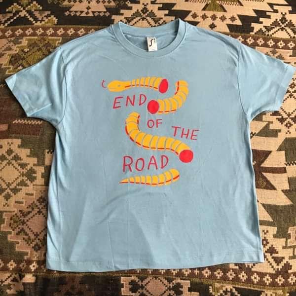Kids Snake T-Shirt - Light Blue - End of the Road Festival