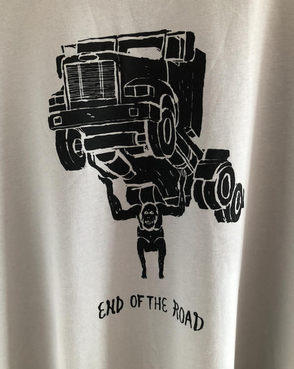 Truck T-Shirt - Pale Grey (Ltd Edition) - End of the Road Festival
