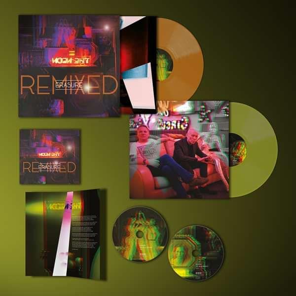 Erasure - The Neon Remixed - Vinyl & CD Bundle - Erasure