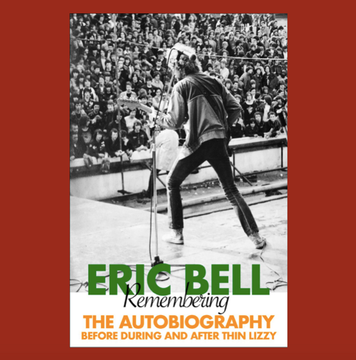 Eric Bell: Remembering, The Autobiography Paperback, Signed - Eric Bell