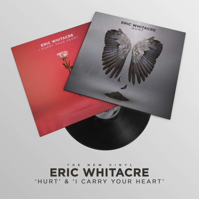 DOUBLE A-SIDE VINYL: Hurt & i carry your heart - Eric Whitacre