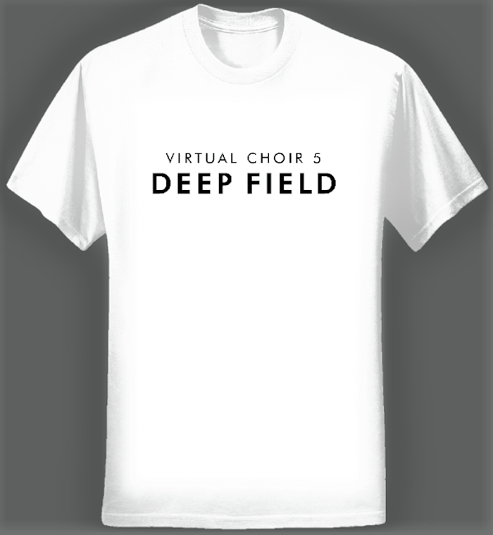 Virtual Choir 5 Logo T-shirt (Women/White) - Eric Whitacre