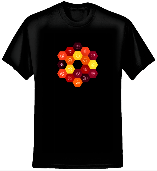 Virtual Choir 5 STEAM T-shirt (Men/Black) - Eric Whitacre