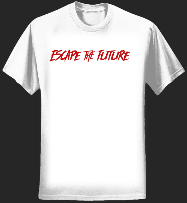 Escape The Future White Tee - Escape the Future
