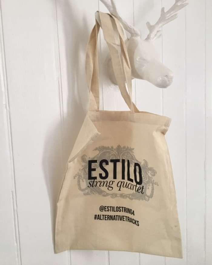 Estilo 'Alternative Tracks' Tote Bag - Estilo String Quartet Store
