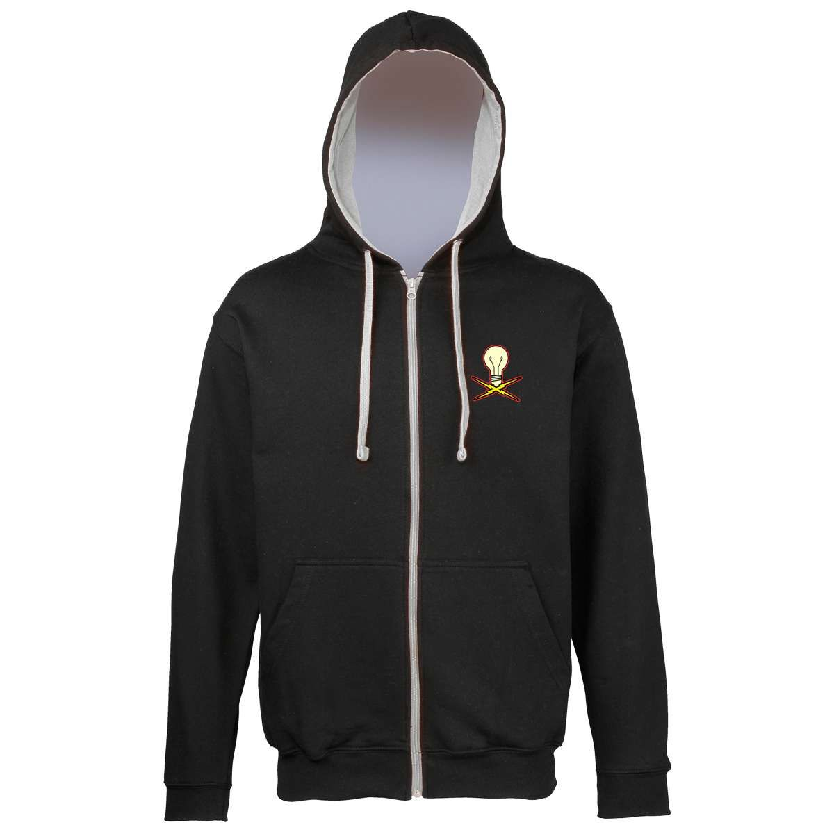New Lightbulb Zip Hoodie - Eureka Machines