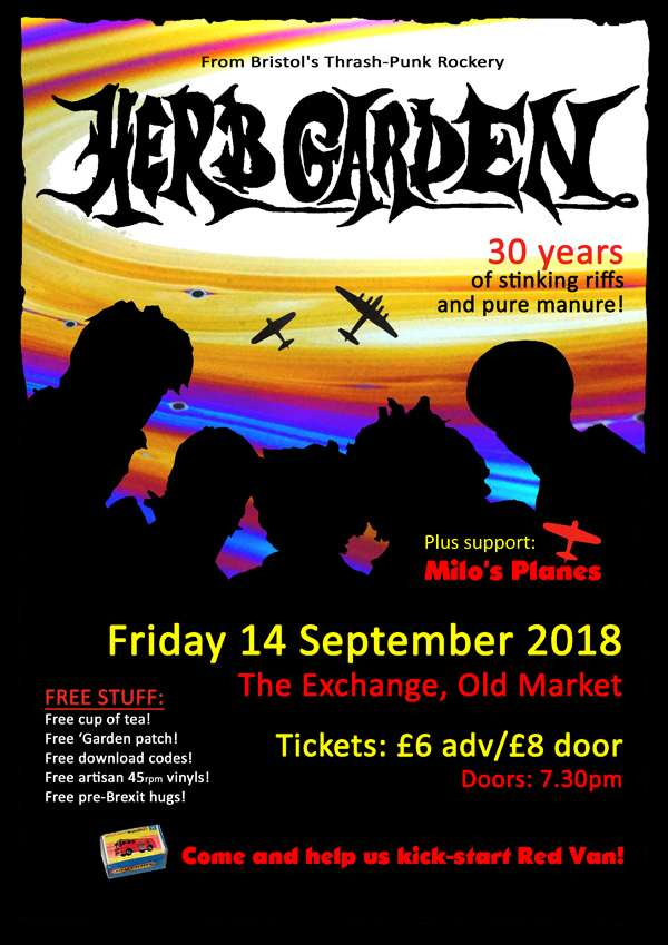 9e5e7c4627cd Don t miss this rare show! Emerging from deep in Bristol s thrash-punk  rockery