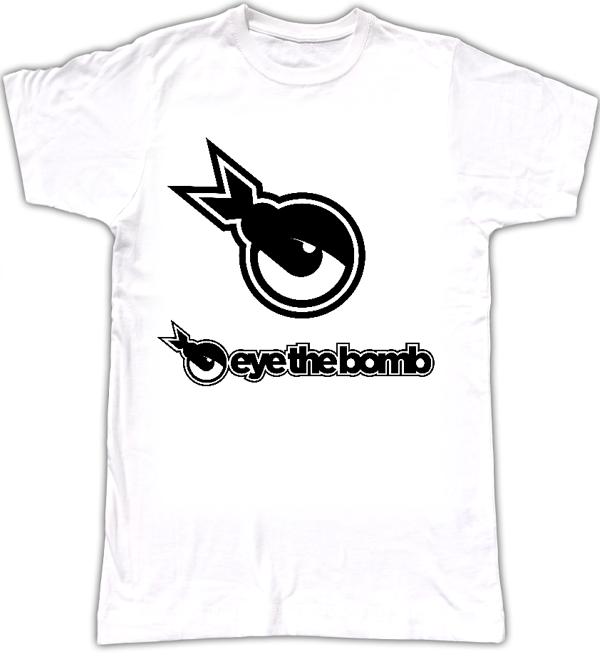 Eye The Bomb Logo Tee - Eye The Bomb