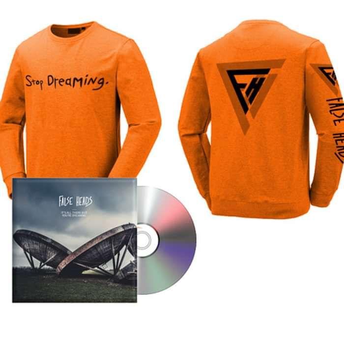 Bundle: CD & Stop Dreaming Jumper - False Heads