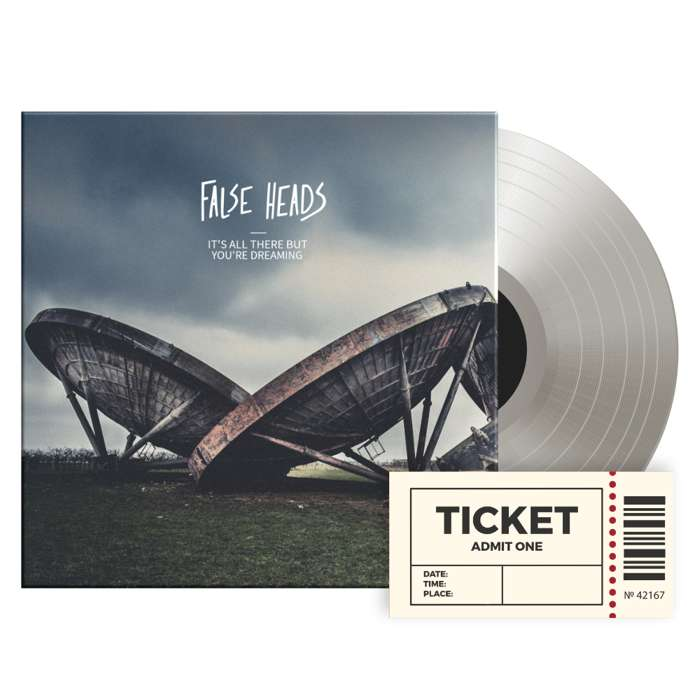Bundle: Ticket + Vinyl - False Heads