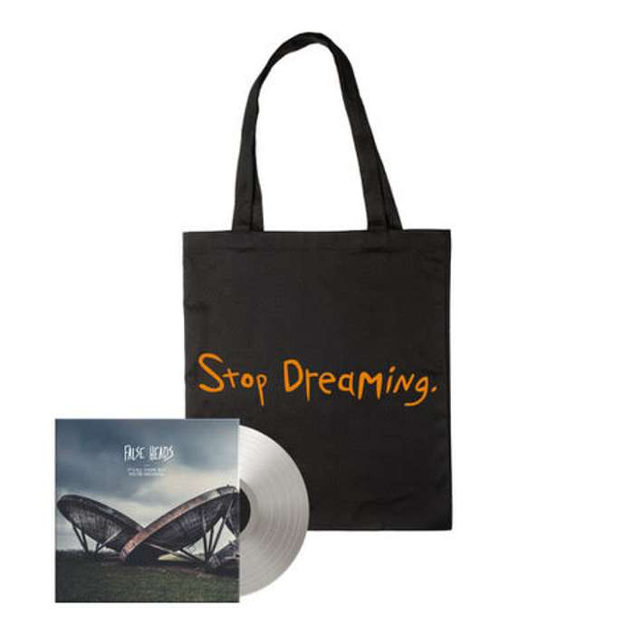 Bundle: Vinyl & Stop Dreaming Tote Bag - False Heads