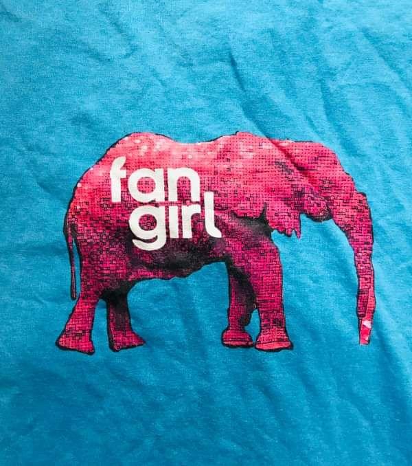 Blue 'Elephant Room' Tee. - Fan Girl