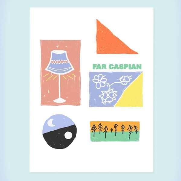 Far Caspian Summer Poster Print - Far Caspian