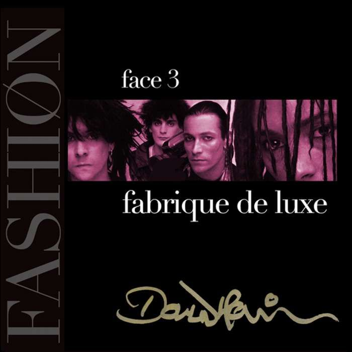 Signed Fashion Face 03 CD - Fashion Fabrique Deluxe