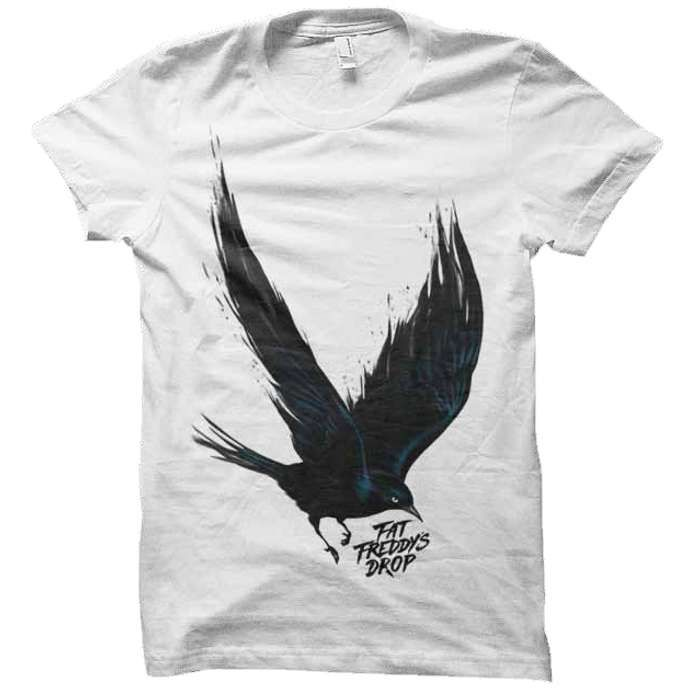 Blackbird T-shirt - Fat Freddy's Drop
