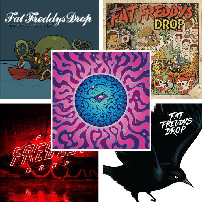 Everything Freddy's Vinyl Bundle - Fat Freddy's Drop