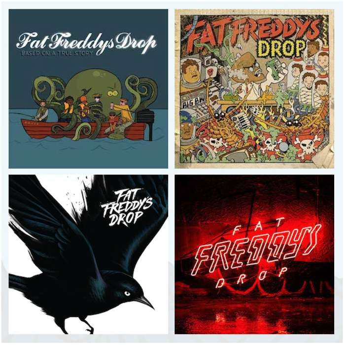 Everything Freddy's Vinyl Bundle - Fat Freddy's Drop