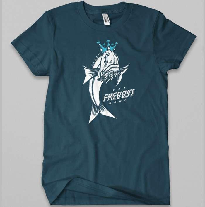 Kids' Fish T-shirt - Fat Freddy's Drop