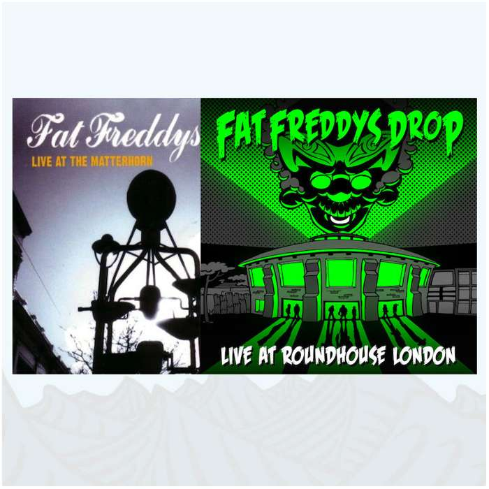 Live CDs Bundle - Fat Freddy's Drop