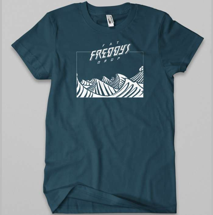 Waves T-shirt - Fat Freddy's Drop