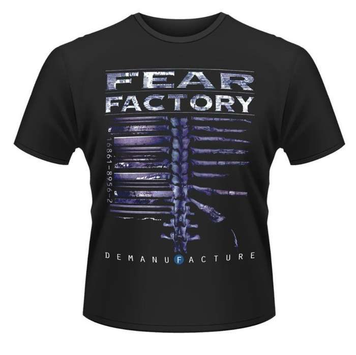 Demanufacture Anniversary Tour (Black Tee) - Fear Factory