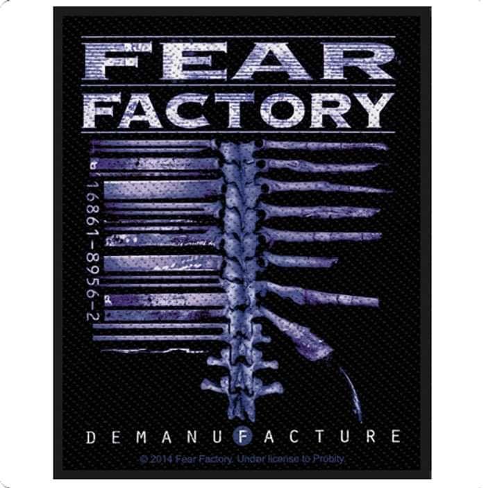 Demanufacture Patch - Fear Factory