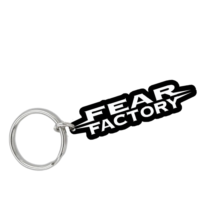 Logo (PVC Keyring) - Fear Factory