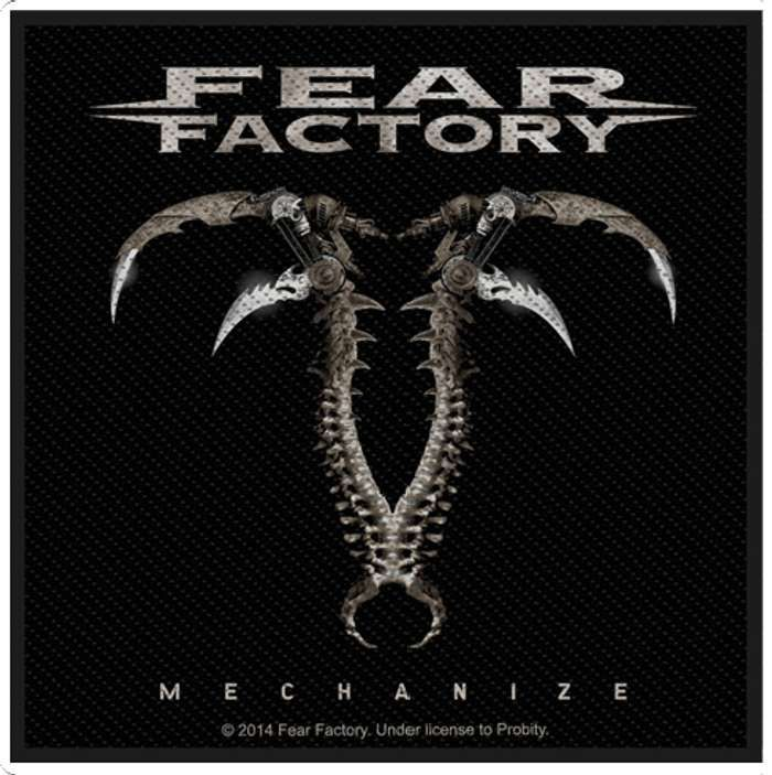 Mechanize Patch - Fear Factory