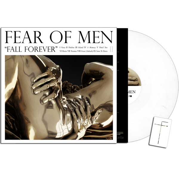 Fear of Men - 'Fall Forever' White Vinyl Edition - FEAR OF MEN