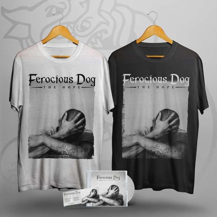 'The Hope' CD, T-Shirt + Ticket Bundle - Ferocious Dog