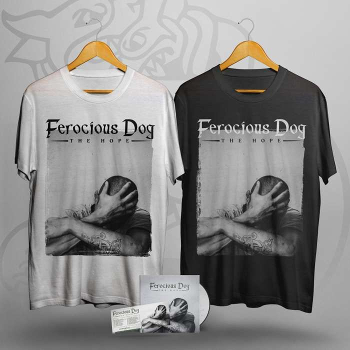 'The Hope' Deluxe Digipack, T-Shirt + Ticket Bundle - Ferocious Dog