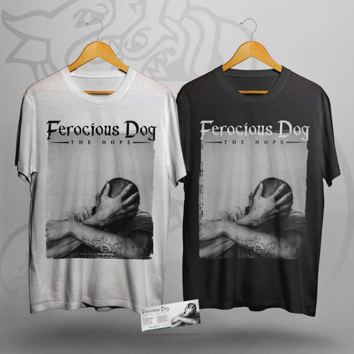 'The Hope' T-Shirt + Ticket Bundle - Ferocious Dog