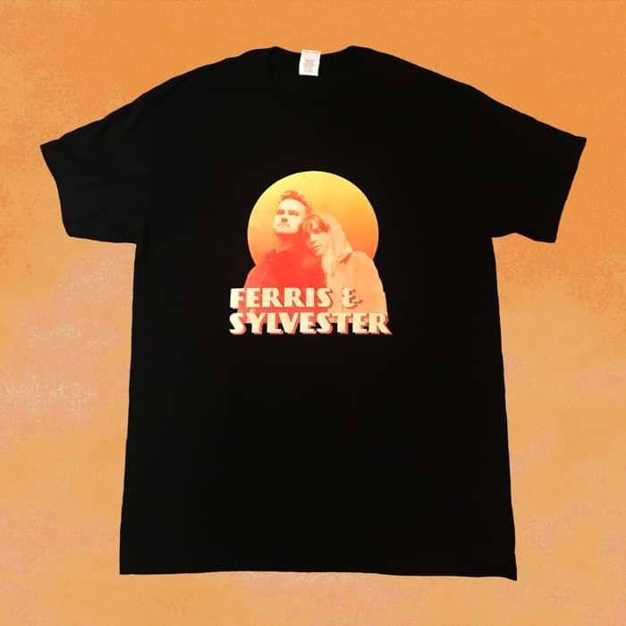Ferris & Sylvester 2019 Tour T-Shirt in Black - Ferris & Sylvester