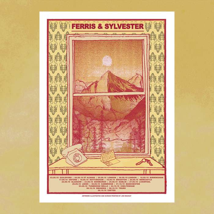 Limited Edition Tour Prints by Jon Mackay (Aut 2019) - Ferris & Sylvester