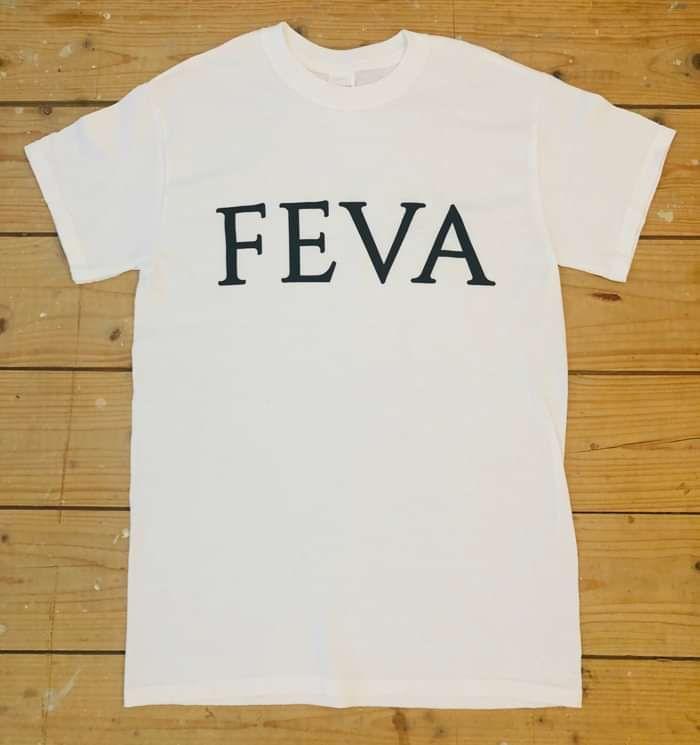 FEVA New Logo T-shirt White - FEVA
