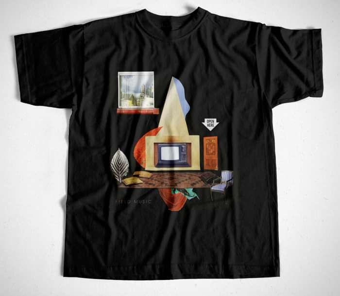 Field Music - Open Here T Shirt - Field Music US