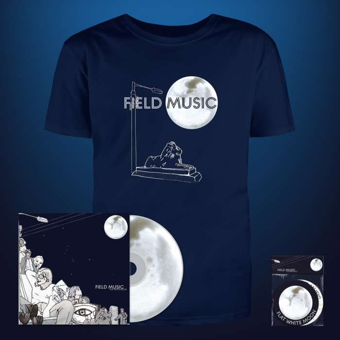 Flat White Moon - CD + Coasters + T Shirt - Field Music US