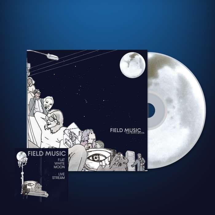 Flat White Moon - CD + Live Stream Ticket - Field Music US