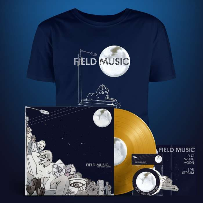 Flat White Moon - Deluxe Bundle - Includes Live Stream Ticket - Field Music US