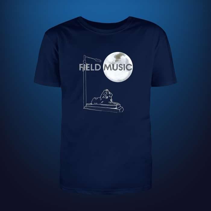 Flat White Moon - T Shirt - Field Music US