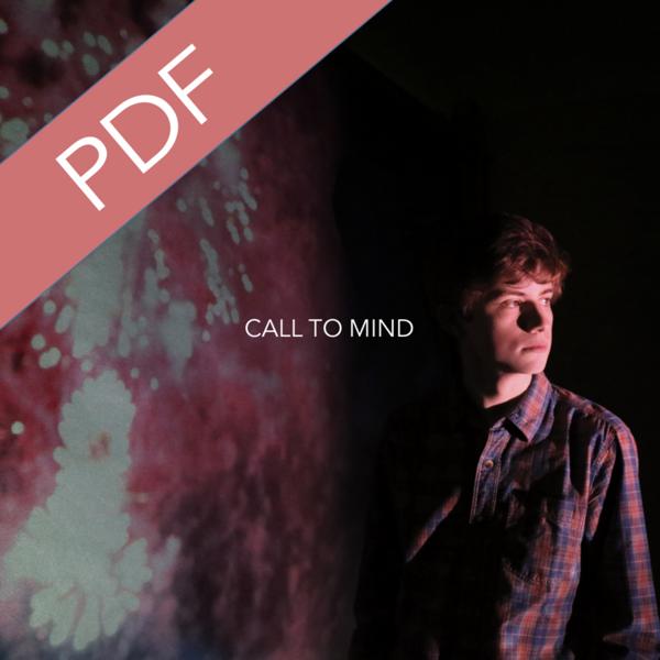 Call To Mind - PDF Digital Booklet - Finn Collinson