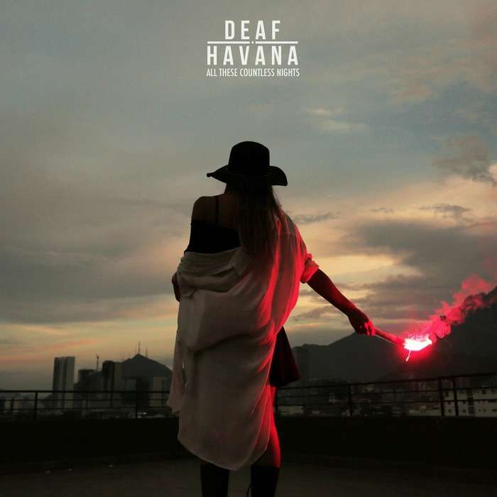 Deaf Havana - 'All These Countless Nights' Red Coloured Vinyl Deluxe Version - Five4Five Fest