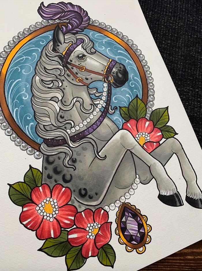 Original Drawings by Alex Rowntree - Five4Five Fest