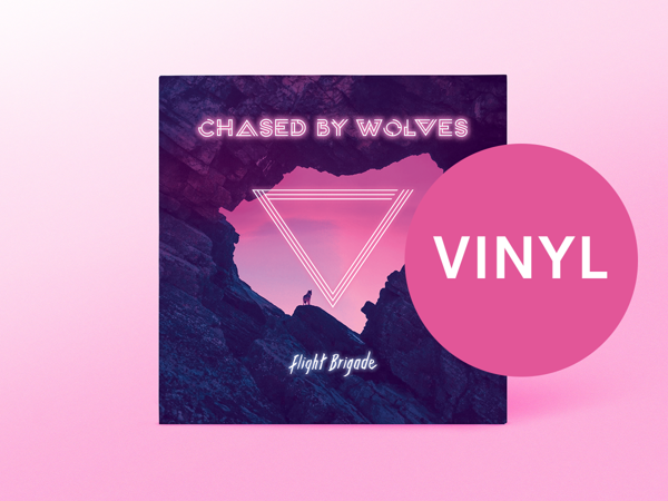 'Chased By Wolves' Gatefold Coloured Vinyl Album + Free 'Tinderbox' Download - Flight Brigade