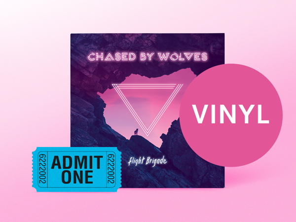 'Chased By Wolves' Vinyl Album + Oct 2019 Tour Ticket + Free 'Tinderbox' Download - Flight Brigade